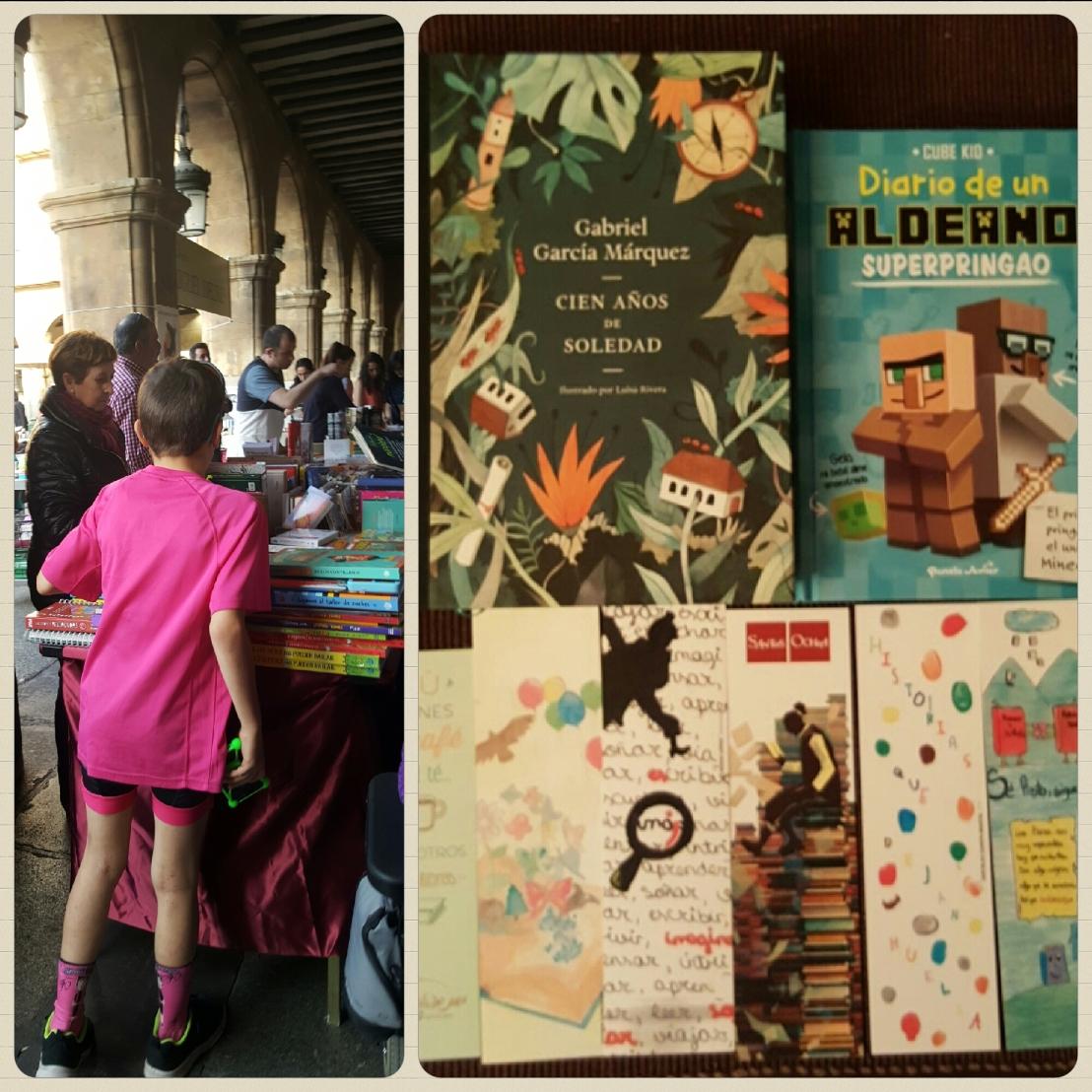 Día del libro plaza mayor salamanca