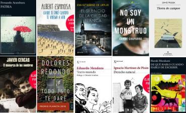 Libros ficción mas vendidos semana