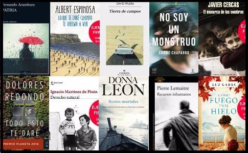 Lista libros más vendidos ficción El Cultural