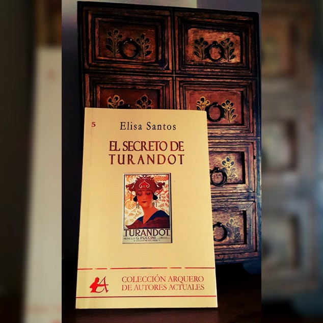 Libro El secreto de turandot Elisa Santos Puccini