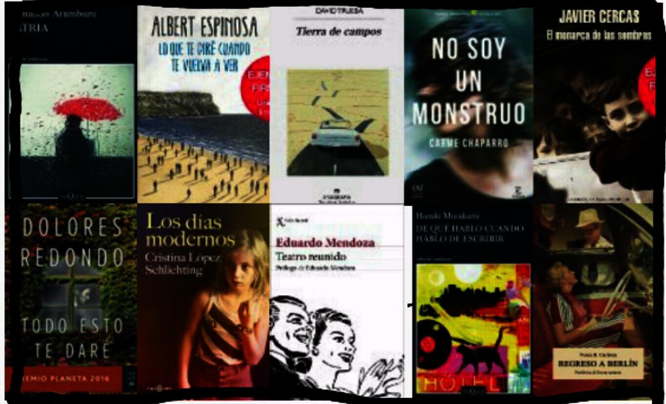 Lista libros ficción más vendidos semana del 7 al 14 mayo