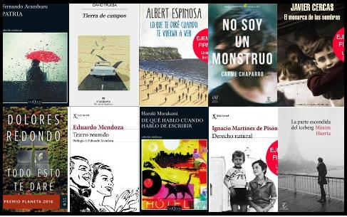 Lista libros más vendidos ficción semana 1 al 7 mayo