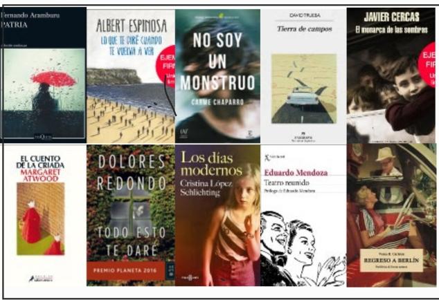 Lista libros más vendidos semana del 15 al 21 de mayo