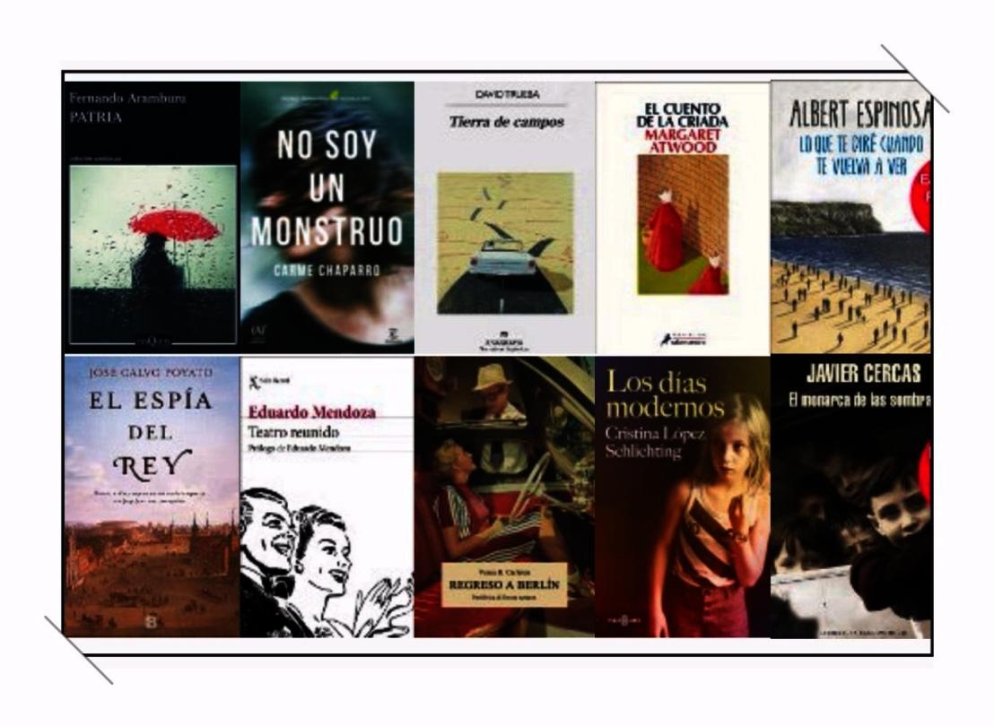 Libros ficción más vendidos semana del 22 al 28 de mayo el cultural