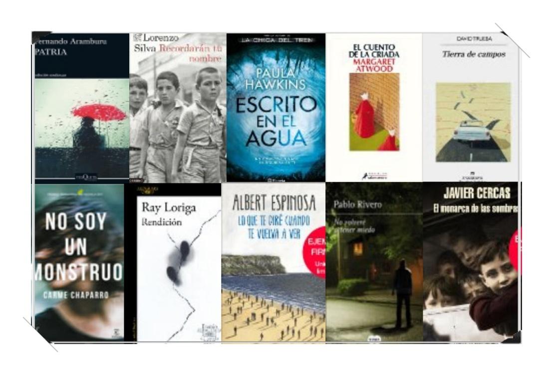 Lista libros ficción más vendidos semana del 5 al 11 de junio