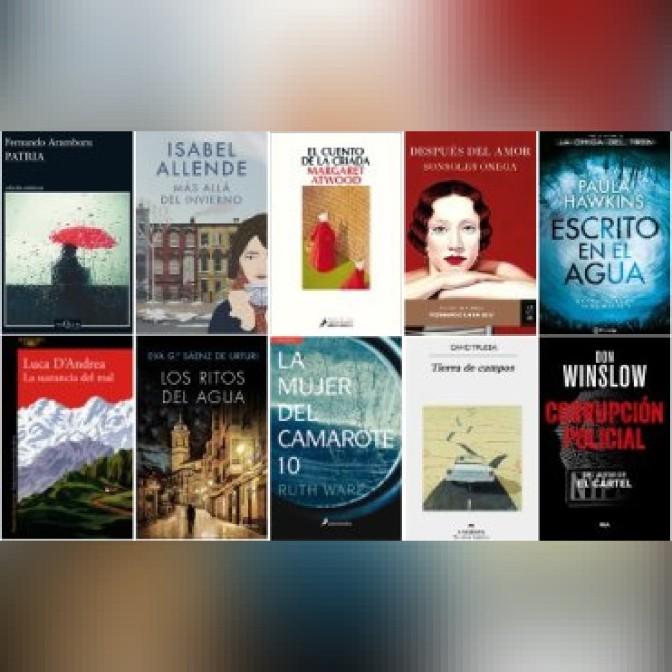 Lista libros ficción más vendidos del 31 al 6 de agosto revista el cultural