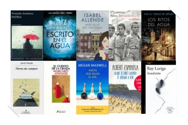 Lista libros ficción más vendidos del 26 al 2 de julio revista el cultural