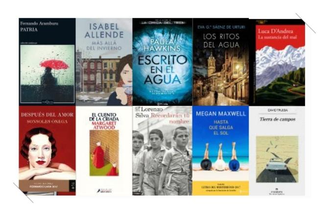 Lista libros ficción más vendidos del 3 al 9 de julio revista el cultural