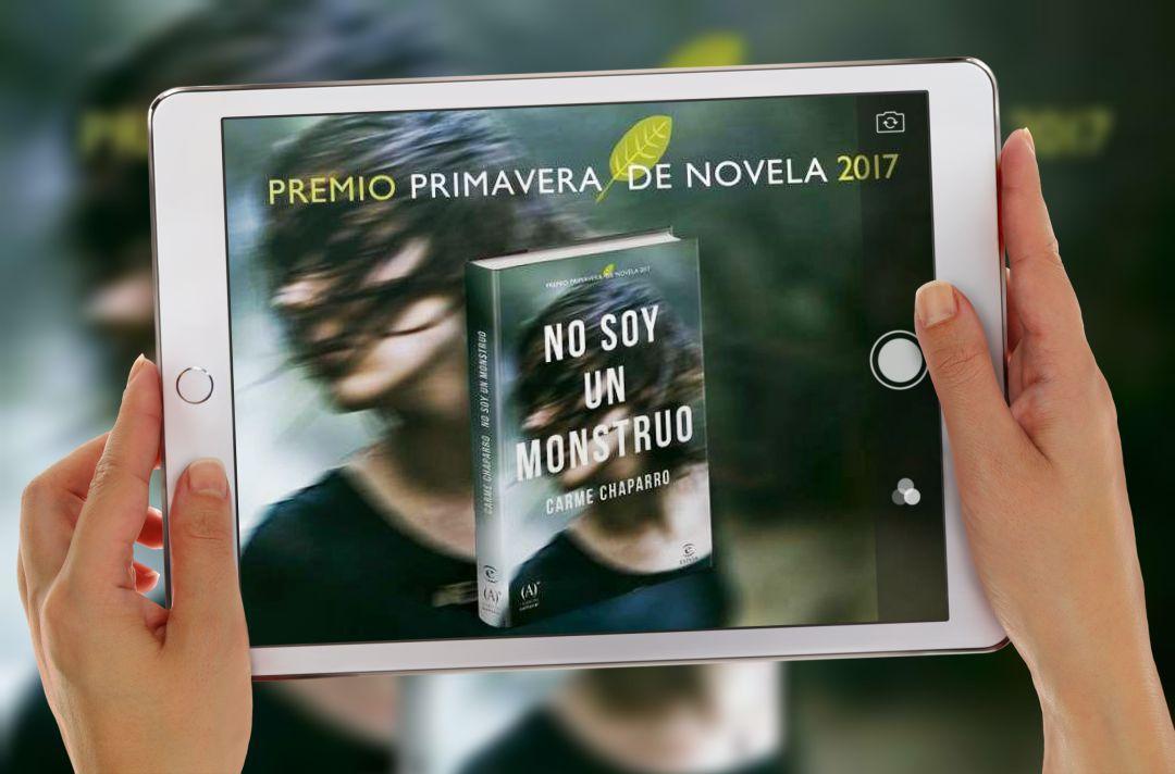 Novela No soy un monstruo thriller Carme Chaparro secuestro planeta de libro premio primavera de novela 2017
