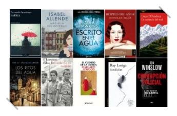 Lista libros ficción más vendidos del 17 al 23 de julio revista el cultural