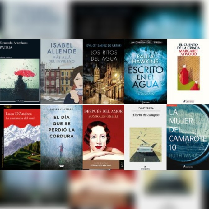 Lista libros ficción más vendidos del 21 al 28 de agosto revista el cultural