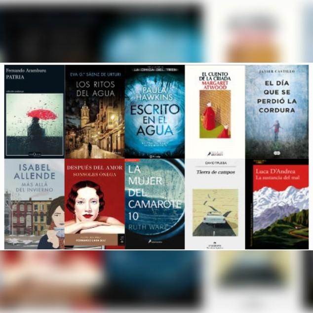 Lista libros ficción más vendidos del 29 al 3 de septiembre revista El Cultural