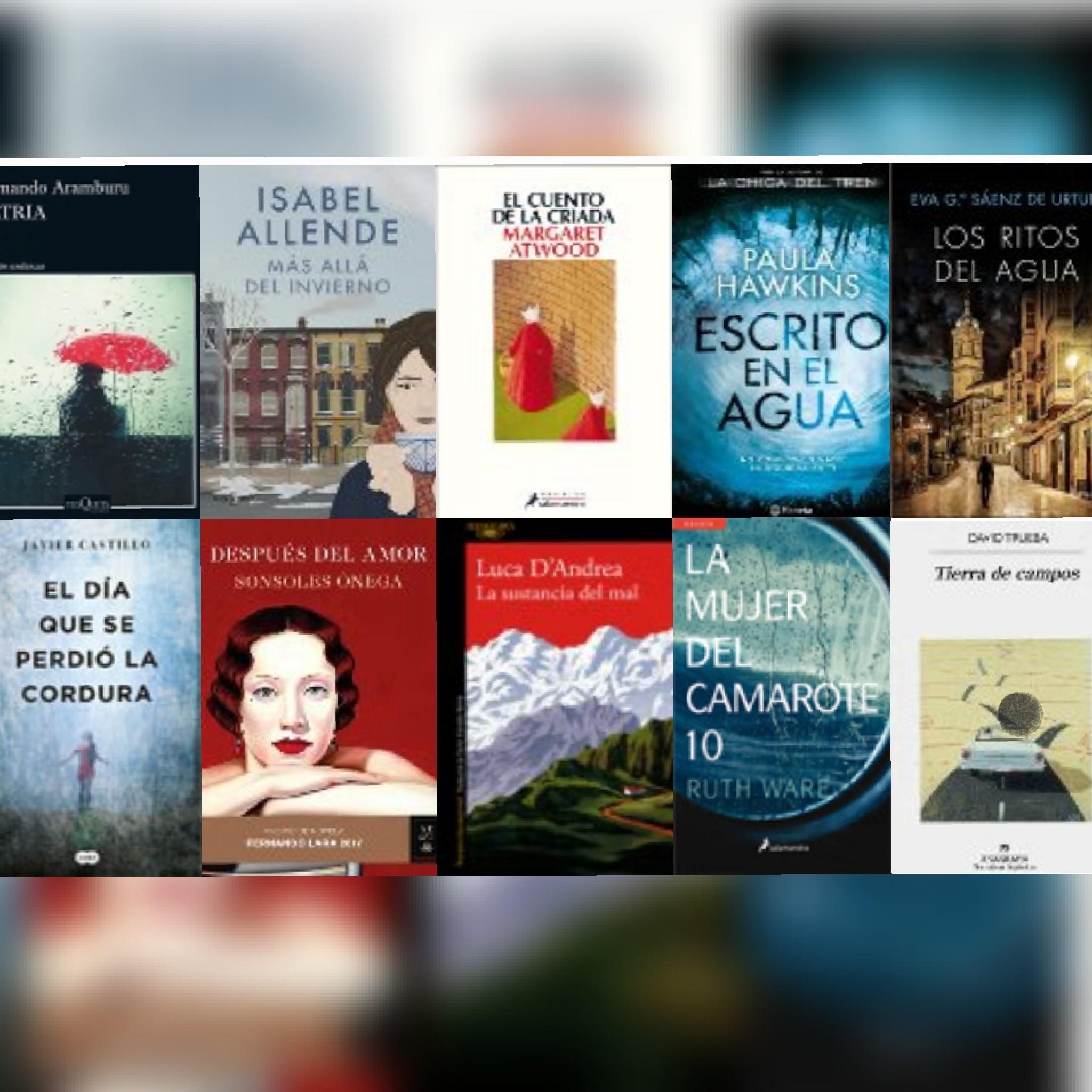 Lista libros ficción más vendidos del 4 al 10 de septiembre revista El Cultural