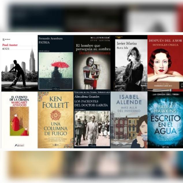 Lista libros ficción más vendidos semana del 18 al 24 de septiembre revista el cultural