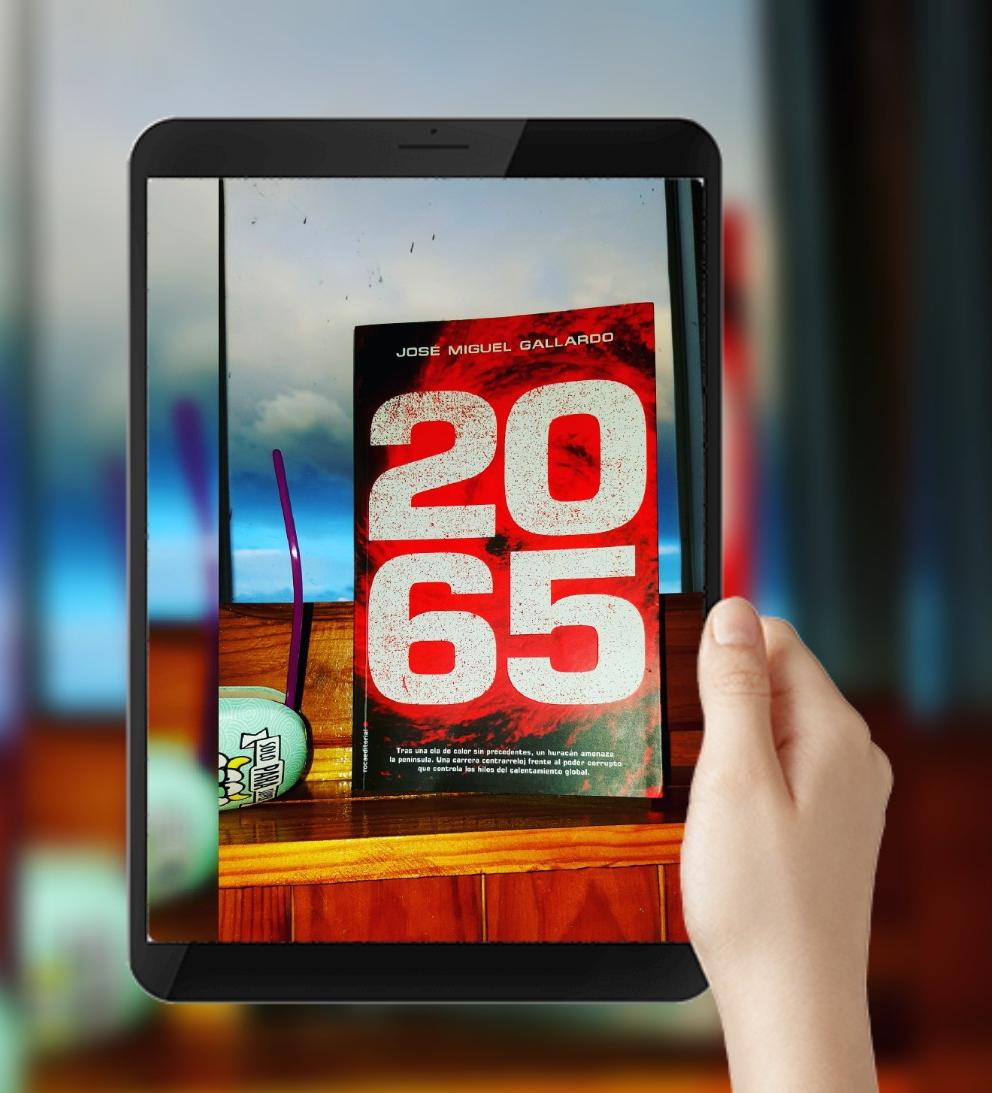 2065 novela Roca Editorial José Miguel Gallardo calentamiento global thriller