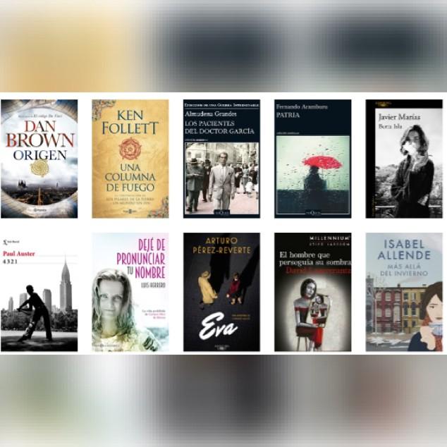 Lista libros ficción más vendidos del 23 al 29 de octubre revista El Cultural