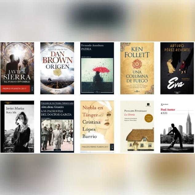 Lista libros ficción más vendidos del 11 al 18 de diciembre revista el cultural