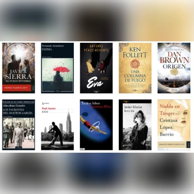 Lista libros ficción más vendidos del 19 al 25 de diciembre revista el cultural