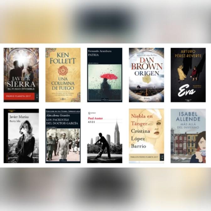 Lista libros ficción más vendidos del 1 al 7 de enero revista El Cultural