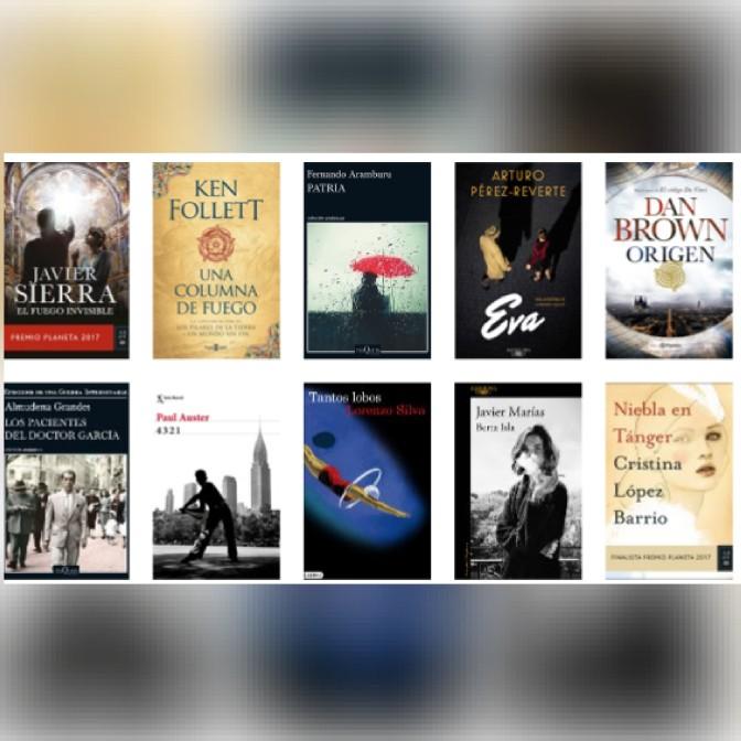 Lista libros ficción más vendidos del 8 al 14 de enero revista El Cultural