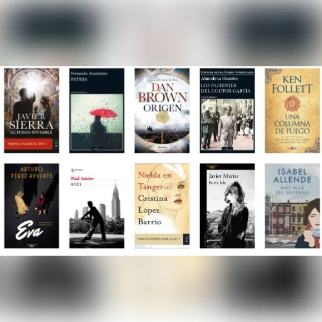 Lista libros ficción más vendidos del 15 al 21 de enero revista El Cultural