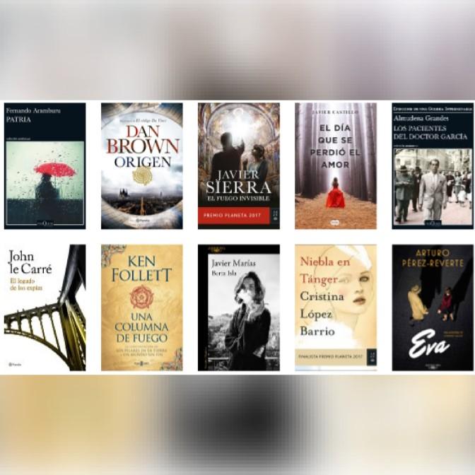Lista libros ficción más vendidos del 22 al 28 de enero revista El Cultural