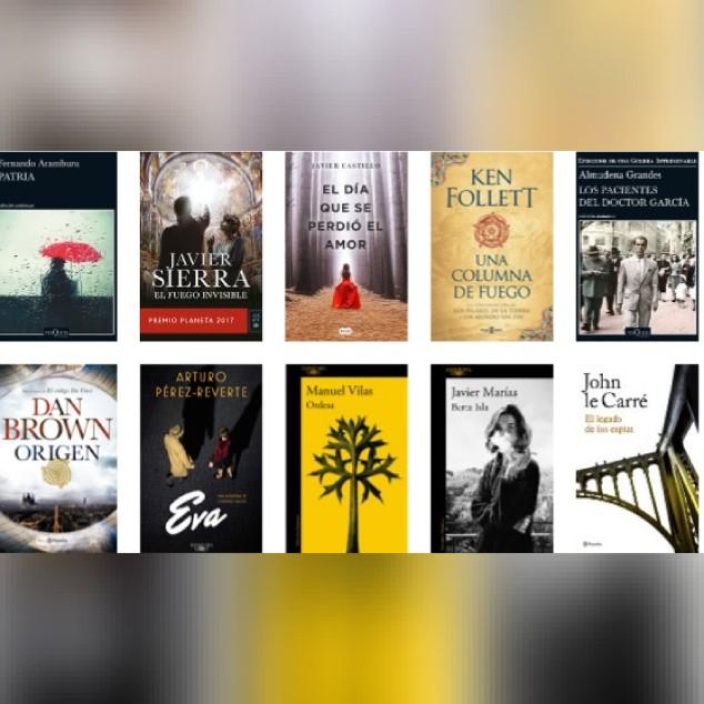 Lista libros ficción más vendidos del 29 al 4 de febrero revista El Cultural