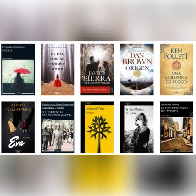 Lista libros ficción más vendidos del 5 al 11 de febrero revista El Cultural