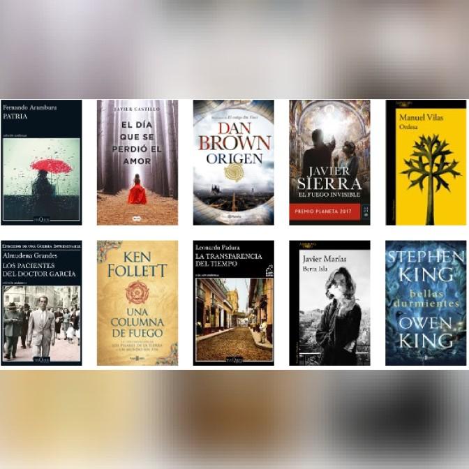 Lista libros ficción más vendidos del 12 al 18 de febrero revista El Cultural