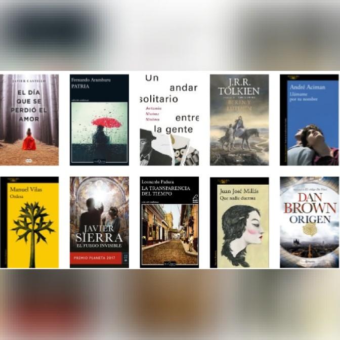 Lista libros ficción más vendidos del 26 al 4 de marzo revista El Cultural