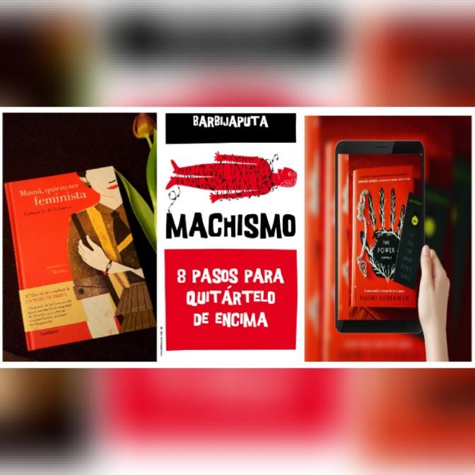 Libros feministas 8M