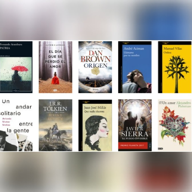 Lista libros ficción más vendidos del 5 al 11 de marzo revista El Cultural