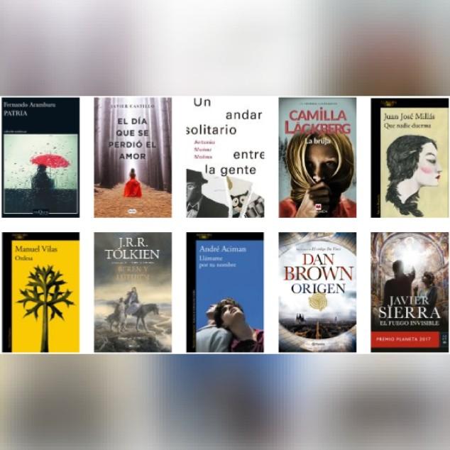 Lista libros ficción más vendidos del 11 al 18 de marzo revista El Cultural