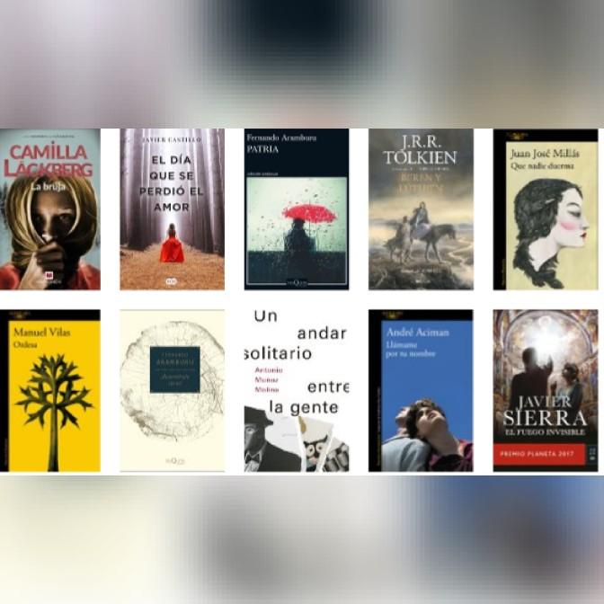 Lista libros ficción más vendidos del 19 al 25 de marzo Revista El Cultural