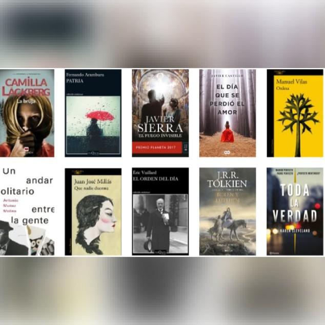 Lista libros ficción más vendidos del 26 al 1 de abril revista El Cultural