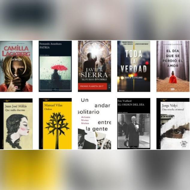 Lista libros ficción más vendidos del 2 al 8 de abril revista El Cultural