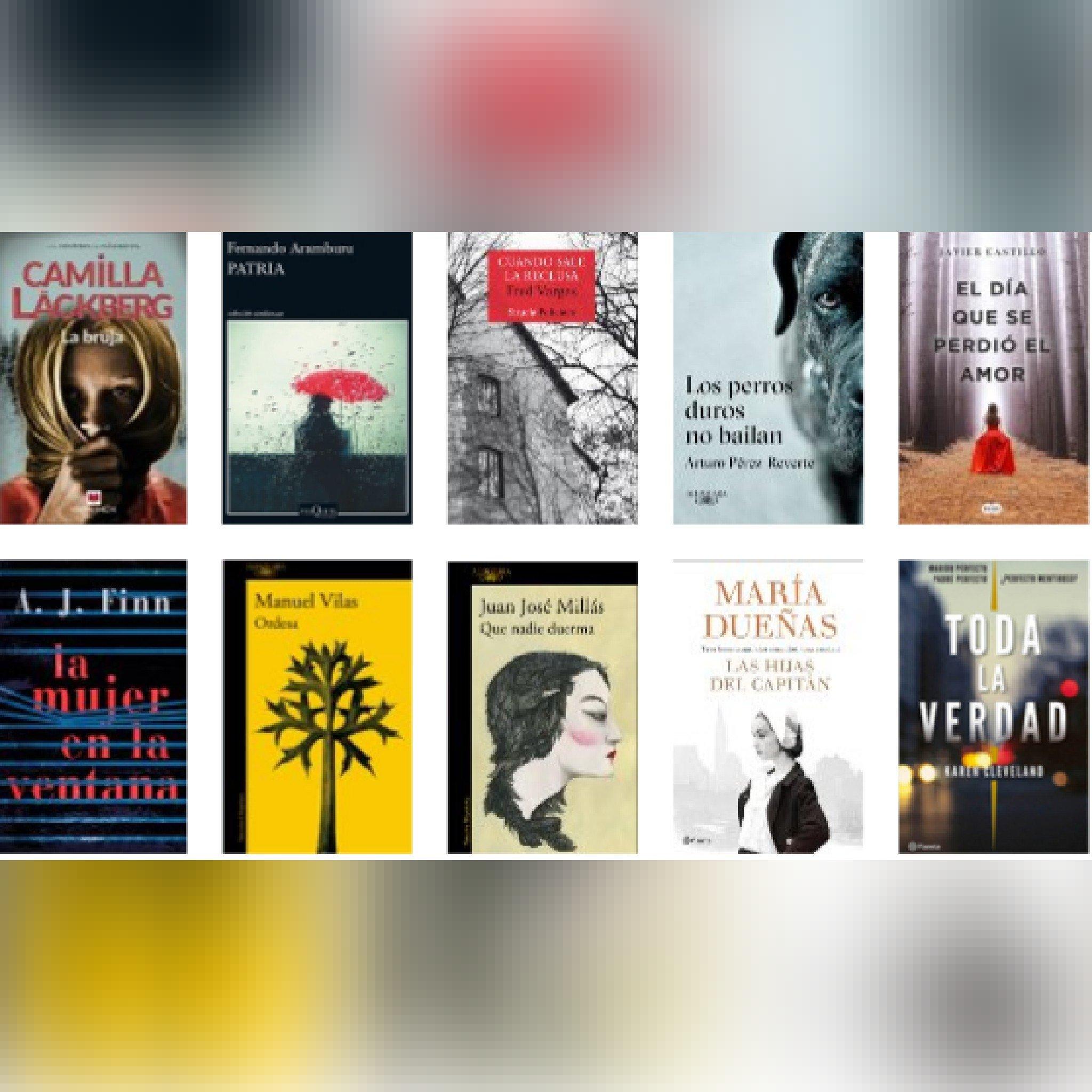 Lista libros ficción más vendidos del 16 al 22 de abril revista El Cultural