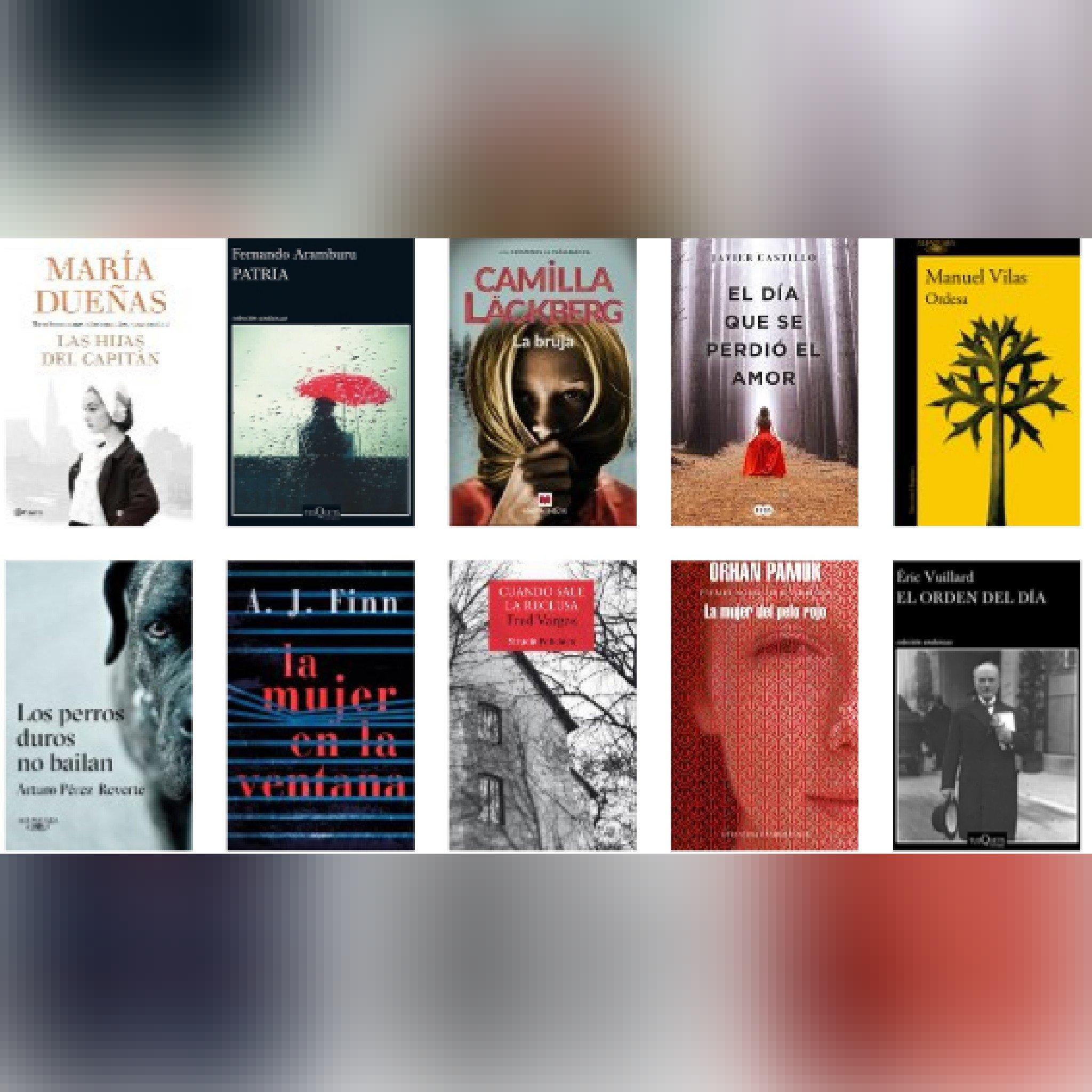 Lista libros ficción más vendidos del 30 al 6 de mayo revista El Cultural
