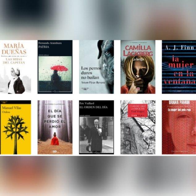 Libros ficción mas vendidos semana del 7 al 13 de mayo revista El Cultural