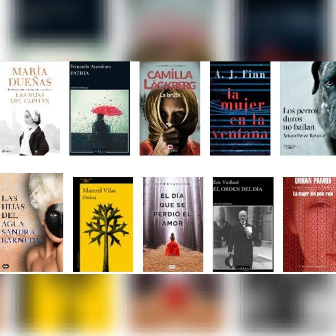 Lista libros ficción más vendidos del 14 al 20 de mayo revista El Cultural