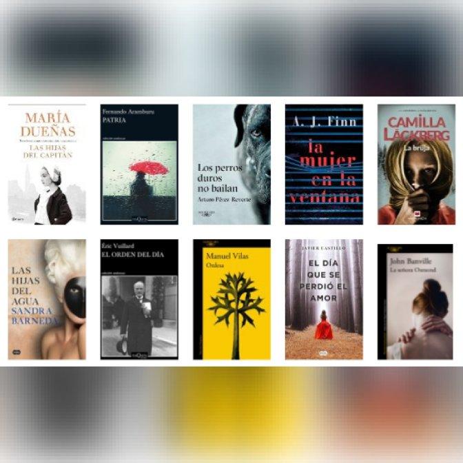 Lista libros ficción más vendidos del 21 al 27 de mayo revista El Cultural