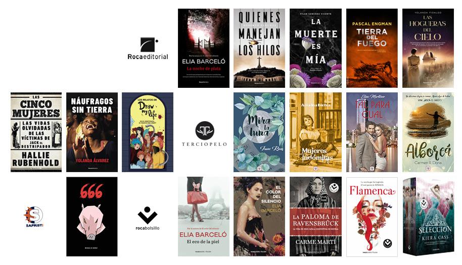 Roca Editorial, Roca Joven, Novelas, Libros